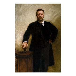 President Theodore Roosevelt Poster