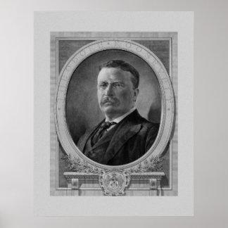 President Theodore Roosevelt Poster
