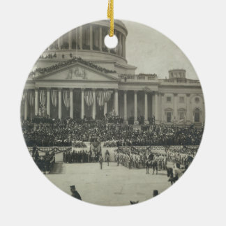 President Theodore Roosevelt Taking Oath of Office Christmas Tree Ornament