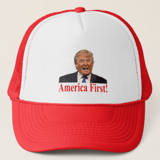 President Trump: America First! Trucker Hat