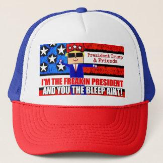 President Trump and Friends Cartoon Hat