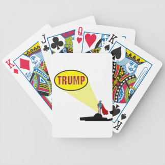 president trump bicycle playing cards