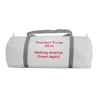 President Trump Gym Bag Gym Duffel Bag