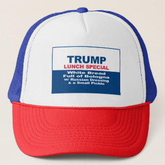 President Trump Lunch Special Trucker Hat
