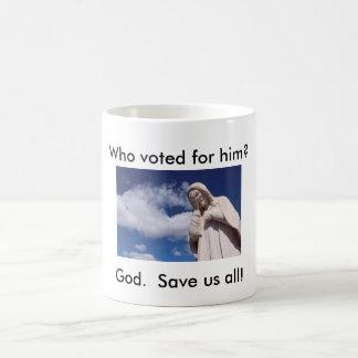 President vote mug