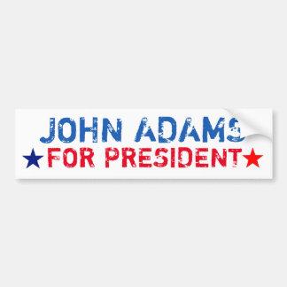 Presidential Bumper Sticker: John Adams Bumper Sticker