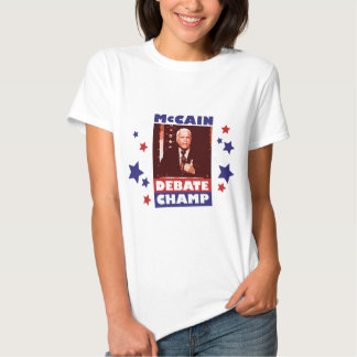 Presidential Debate - John McCain 2008 T-shirt