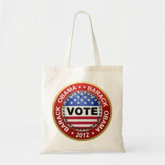 Presidential Election 2012 Barack Obama Canvas Bags