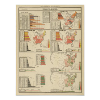 Presidential elections 1824-1840 print