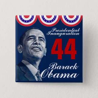 Presidential Inauguration 15 Cm Square Badge