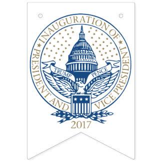 Presidential Inauguration Trump Pence 2017 Bunting