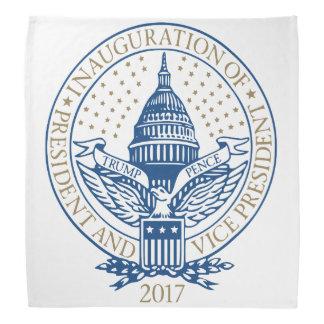 Presidential Inauguration Trump Pence 2017 Logo Bandana