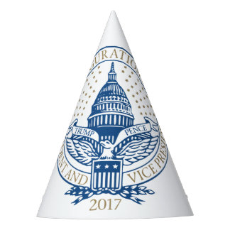 Presidential Inauguration Trump Pence 2017 Logo Party Hat