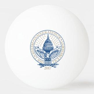 Presidential Inauguration Trump Pence 2017 Logo Ping Pong Ball