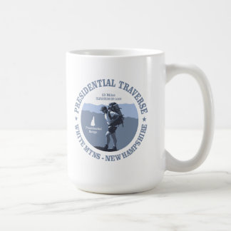 Presidential Traverse (rd) Coffee Mug