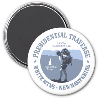 Presidential Traverse (rd) Magnet