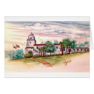 PRESIDEO PARK, OLD TOWN SAN DIEGO,CALIFORNIA CARD