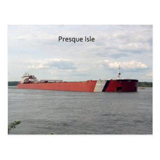 Presque Isle Post Card