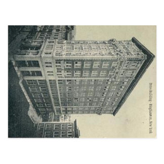 Press Building - Binghamton New York Postcard