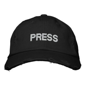 PRESS EMBROIDERED HAT