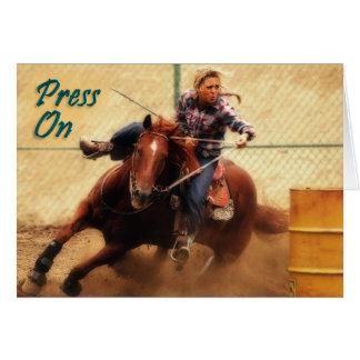 Press On Encouragement Card