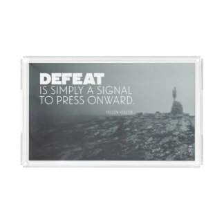 Press Onward Acrylic Tray
