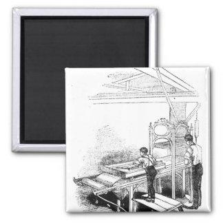 Press-printing Square Magnet