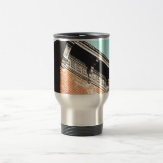 Pressed Metal Cornice Travel Mug