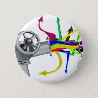 Pressure-img 6 Cm Round Badge