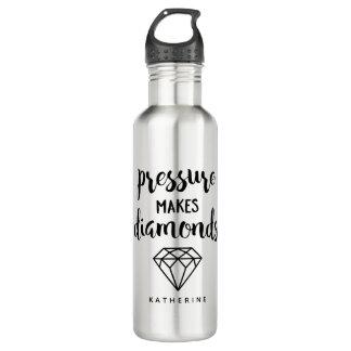 """Pressure Makes Diamonds"" 710 Ml Water Bottle"