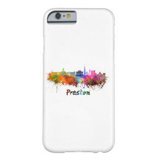 Preston skyline in watercolor barely there iPhone 6 case