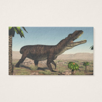 Prestosuchus dinosaur - 3D render Business Card