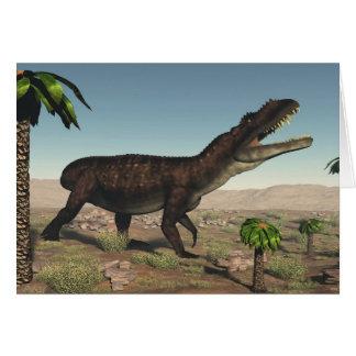 Prestosuchus dinosaur - 3D render Card