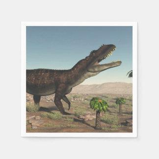 Prestosuchus dinosaur - 3D render Paper Napkin