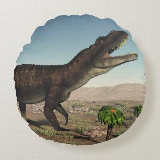 Prestosuchus dinosaur - 3D render Round Cushion