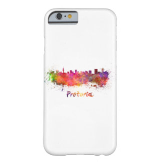 Pretoria skyline in watercolor barely there iPhone 6 case