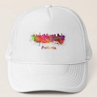 Pretoria skyline in watercolor trucker hat