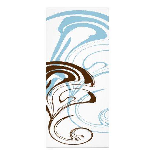 Pretty Abstract Art  #002 Custom Rack Cards