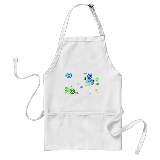 Pretty abstract art apron