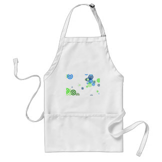 Pretty abstract art standard apron