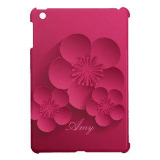 Pretty Abstract Asian Floral Design iPad Mini Case