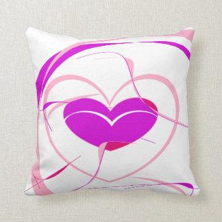 Pretty and Fun Heart Cushion