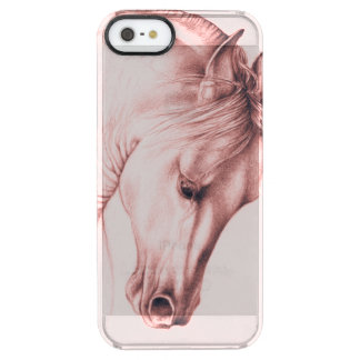 Pretty Andalusian Horse Clear iPhone SE/5/5s Case