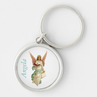 Pretty Angel Custom Keychain