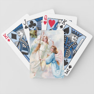 Pretty Angels With Bell Bicycle Playing Cards