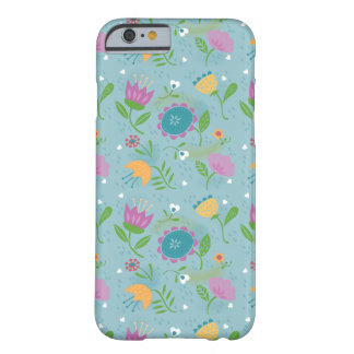 Pretty April Showers Pastel Retro Floral Barely There iPhone 6 Case