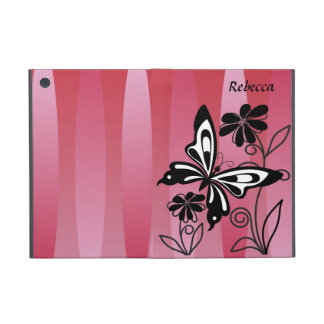 Pretty Art Deco style butterfly and flowers Cover For iPad Mini