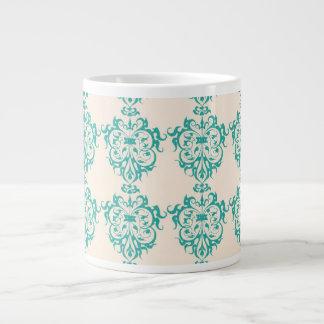 Pretty Art Nouveau Motif Giant Coffee Mug