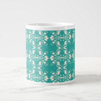 Pretty Art Nouveau Motif Jumbo Mug
