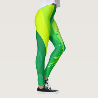 Pretty artistic custom leggings yoga pants